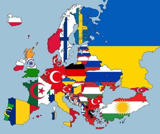 Karta 2019 Nova Karta Na Evropa