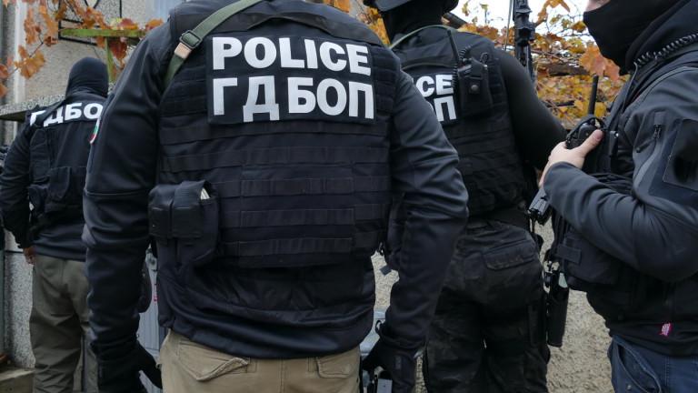 ГДБОП разби група от 18 трафиканти