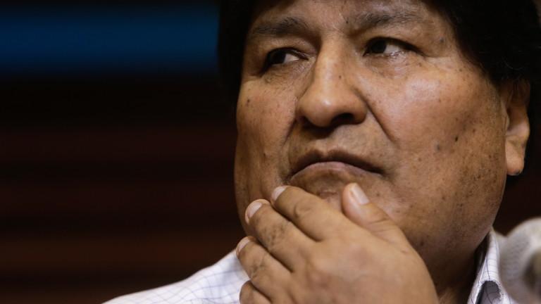 Моралес се връща в Боливия на 11 ноември
