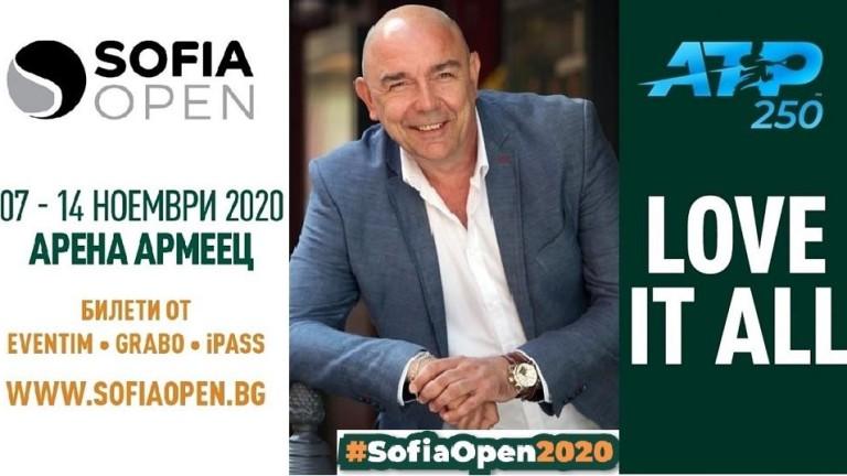 Калин Сърменов влиза в ролята на звезден посланик на Sofia Open 2020