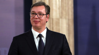 Приеха сръбският президент Вучич в болница