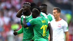 """Полша - Сенегал 0:1 Идриса Гей извежда """"лъвовете"""" напред"""