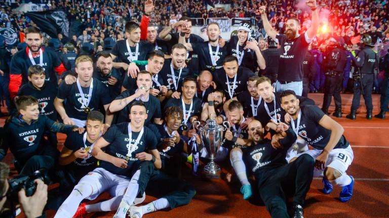 ЦСКА поздрави Локомотив (Пловдив) за спечелването на Купата на България