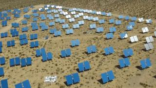 """В Арабската пустиня направиха най-голямата """"виртуална"""" соларна батерия"""