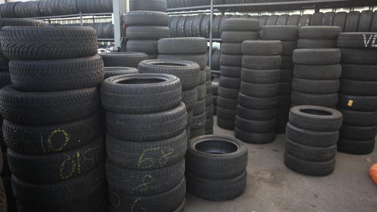 Столична община събира старите гуми за по-чист въздух