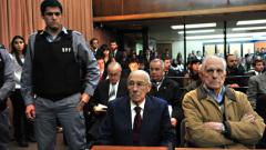 Диктатори с поредни присъди в Аржентина