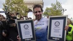 Колоездач измина 29 000 км за 79 дни, вдъхновен от Жул Верн
