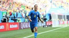 Феновете избраха Филипе Коутиньо за №1 в мача Бразилия - Коста Рика