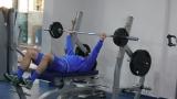 Звездите на Левски се развихриха в кипърски фитнес!