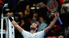 Григор Димитров вече е сред големите в тениса