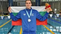 Калоян Левтеров с бронз от Европейското по плуване