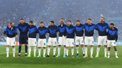 Капитанът на Италия поднови тренировки