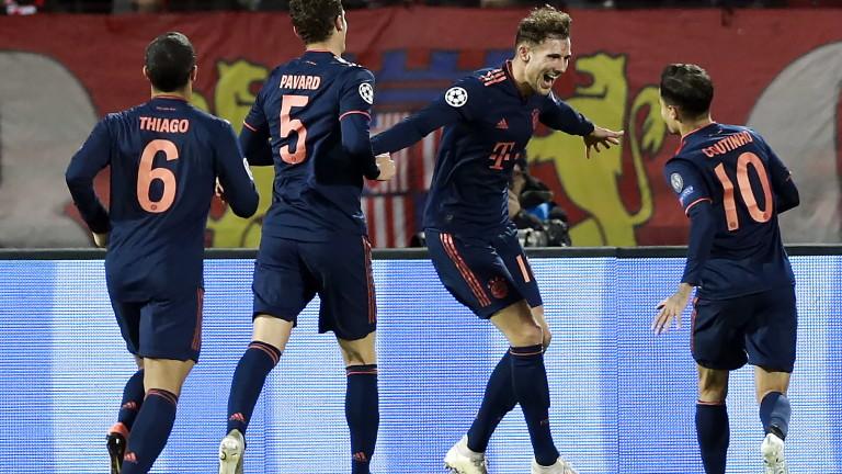 Футбол. лига чемпионов. интер италия бавария германия онлайн