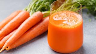 Сокът от моркови - здраве в чаша