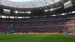 Унгария - Португалия, страхотна атмосфера по трибуните