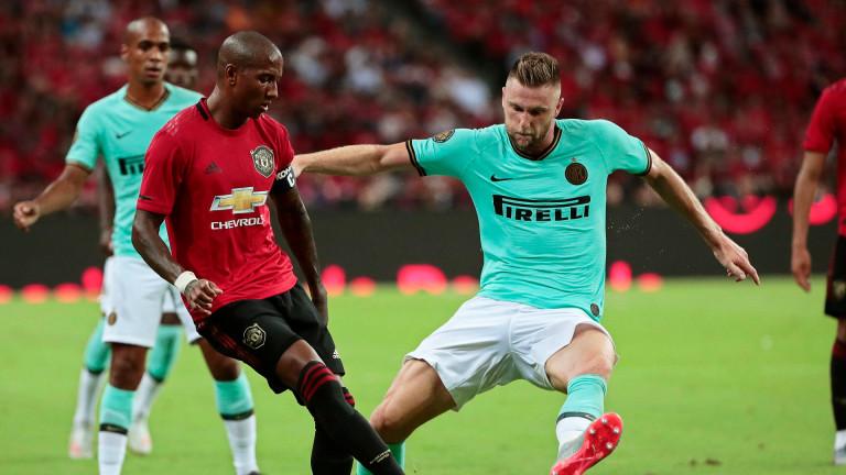 Красив гол на младок направи разликата между Юнайтед и Интер