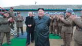 Ким Чен-ун лично наблюдавал теста на реактивна система за залпов огън