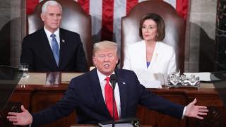 Тръмп пред Конгреса: Върнах страната към благоденствието