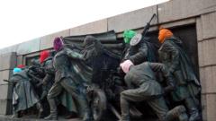 Пак нашариха паметника на Съветската армия