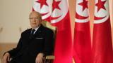 На 92 г. почина президентът на Тунис