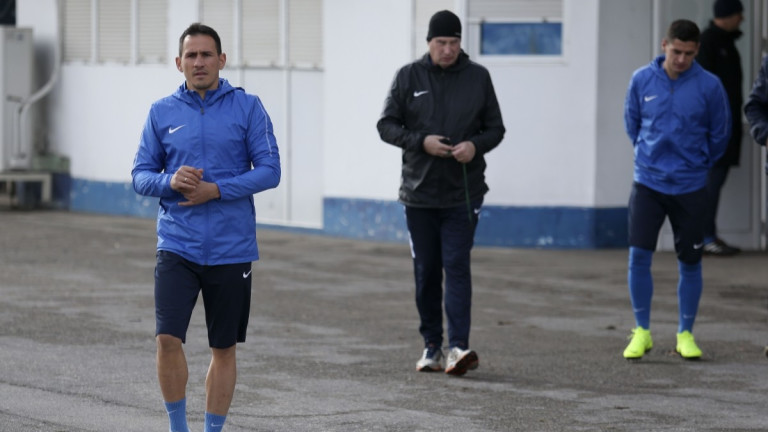 Живко Миланов се оплаква от болки в прасеца