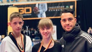 Два медала за България от German Open G1 по таекуондо