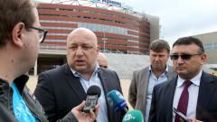 """Засилени мерки за сигурност в """"Арена Армеец"""""""