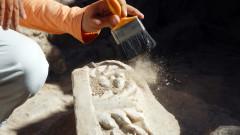 Откриха римска гробница в двора на МУ-Пловдив