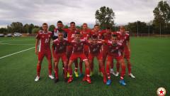Юношите на ЦСКА с разгромна победа и двуцифрен брой отбелязани голове