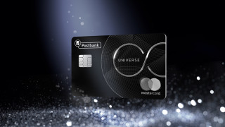 Пощенска банка предлага първата в България Mastercard UNIVERSE метална кредитна карта