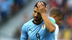 Антирекорд за Суарес - не е пипнал топката в полето на Франция