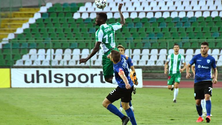 Берое - Черно море 4:0, Алиун Фал прави резултата разгромен