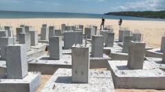 """АКФ иска позиция от МРРБ за бетонните стъпки на плаж """"Смокиня"""""""