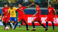 Бразилия помогна на Аржентина, след като разби Чили с 3:0