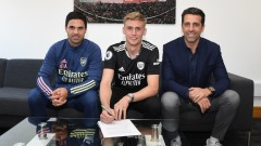 Арсенал привлече исландски национал