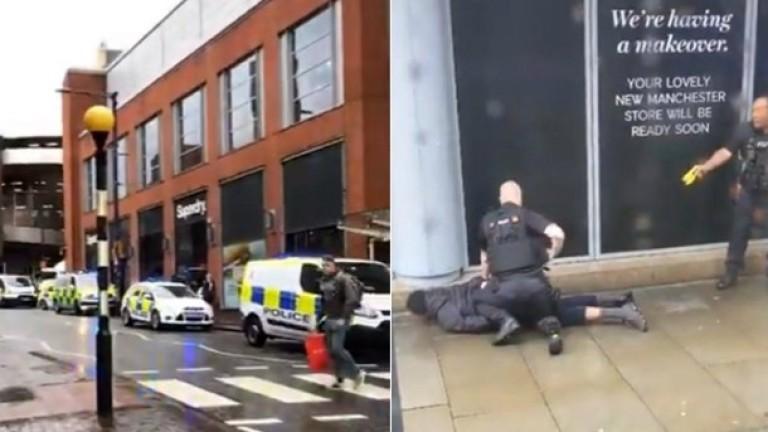 Петима ранени при нападение с нож в Манчестър