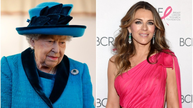 Оказва се общите черти между ЕлизабетХърли и кралицаЕлизабет Втора далеч
