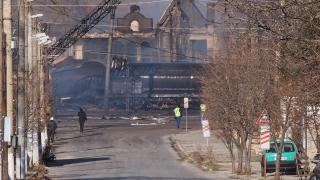 Започна източването на цистерните от взривилия се влак в Хитрино