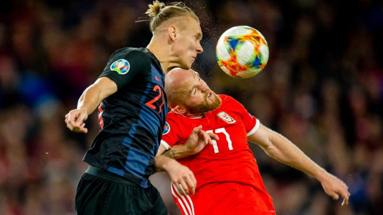 Уелс и Хърватия завършиха наравно 1:1 в мач от група