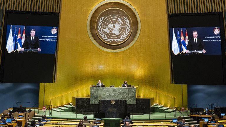 Сръбският президент Александър Вучич благодари на Русия за помощта в