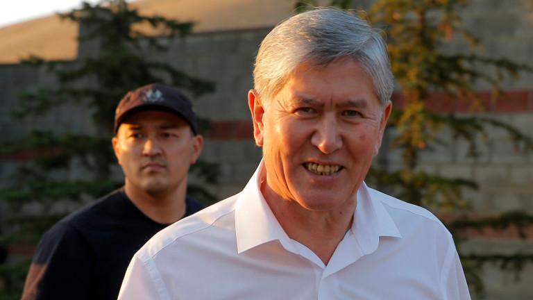 Бившият президент на Киргизстан планирал държавен преврат