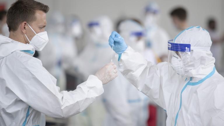 Австрия започна пробно тестване за коронавирус в малкия град Анаберг-Лунгец