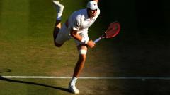 Джон Иснър се класира за първи полуфинал от турнир от Големия шлем
