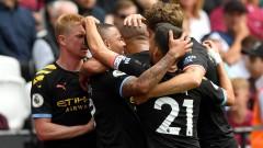 Уест Хем загуби от Манчестър Сити с 0:5