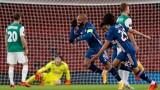 Безупречното представяне на Арсенал в груповата фаза на Лига Европа продължава с всичка сила