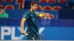 Александър Донски отпадна на четвъртфиналите в Ираклион