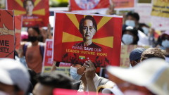Хиляди в Мианмар осъдиха военния преврат на нов протест
