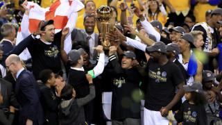 Голдън Стейт Уориърс са шампиони на НБА за пети път