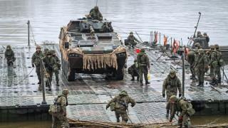 Парламентът на Украйна одобри участието на войски от САЩ и НАТО в учения