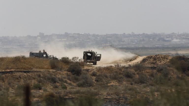 Израел с отмъстителни удари в Газа